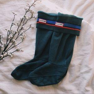 Hunter Green Boot Socks